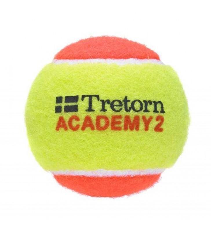 Tretorn Academy 2 Junior Balls (Orange) Pack of 3