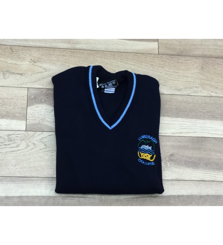 Comeragh College V Neck Jumper Non VAT