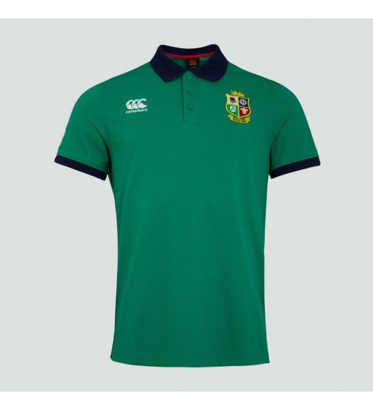 Adults - Canterbury  Lions Home Nations Polo Shirt