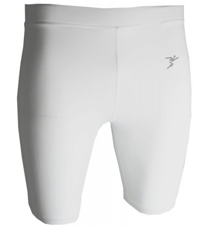 Kids – Precision Compression Shorts  White