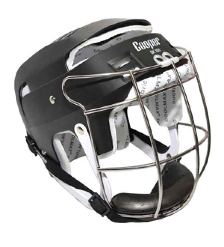 Junior – Cooper Sk100 Hurling Helmet Black