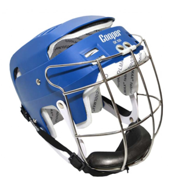 Junior - Cooper SK100 Hurling Helmet Blue