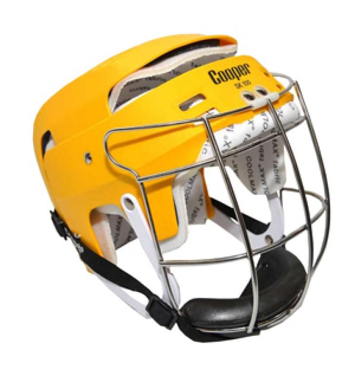 Junior – Cooper Sk100 Hurling Helmet Yellow