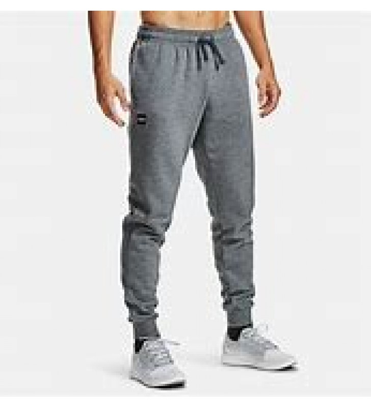 Men's -Under Armour Rival Fleece Jog Pants Grey