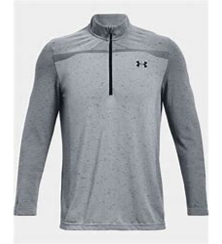 Men's-  Under Armour Seamless ½ Zip Training Top