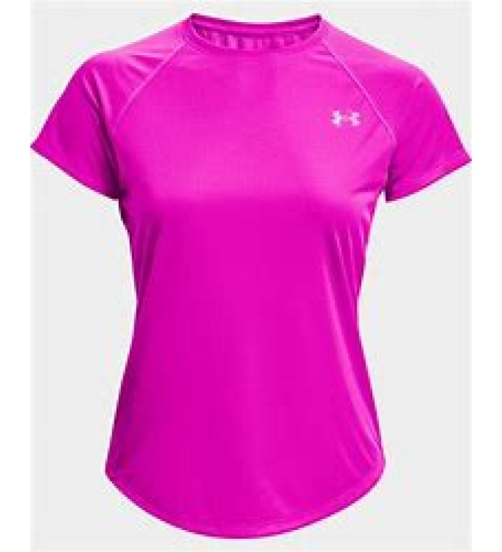Womens - Under Armour Speed Stride Short Sleeve T-Shirt