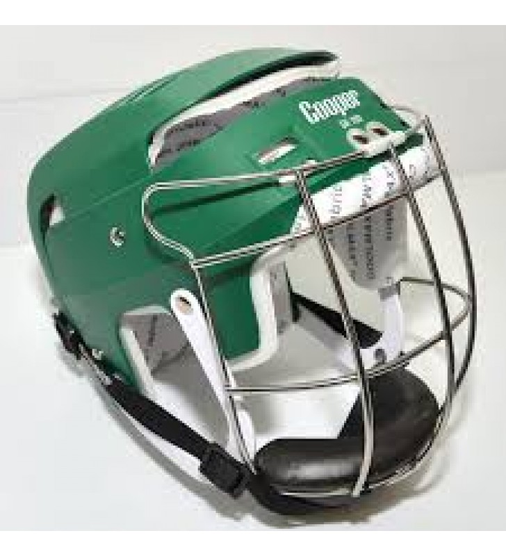 Junior - Cooper SK100 Hurling Helmet Green