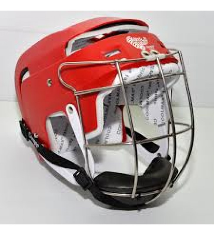 Junior – Cooper SK100 Hurling Helmet Red