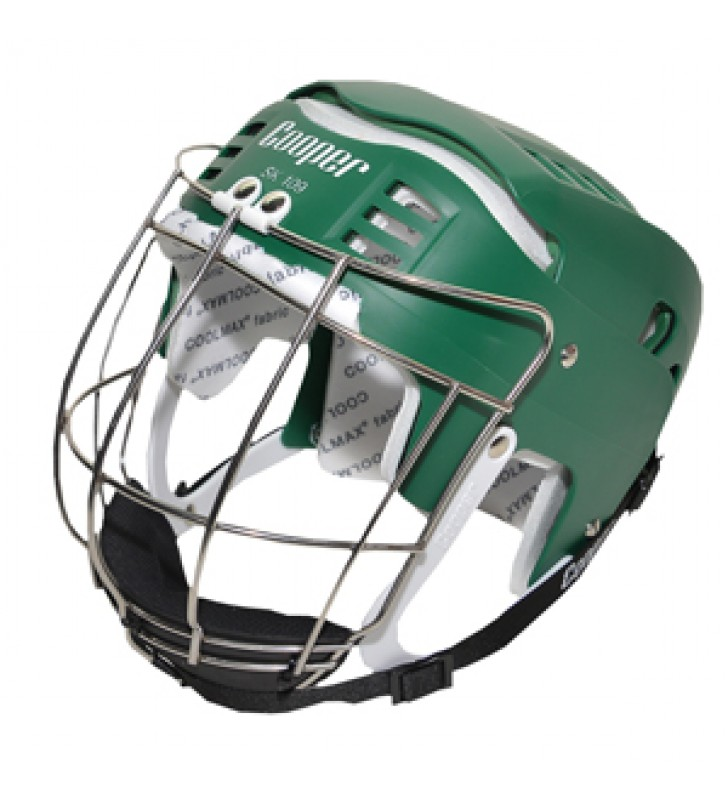Adult - Cooper SK109 Hurling Helmet Green 2017 VERSION