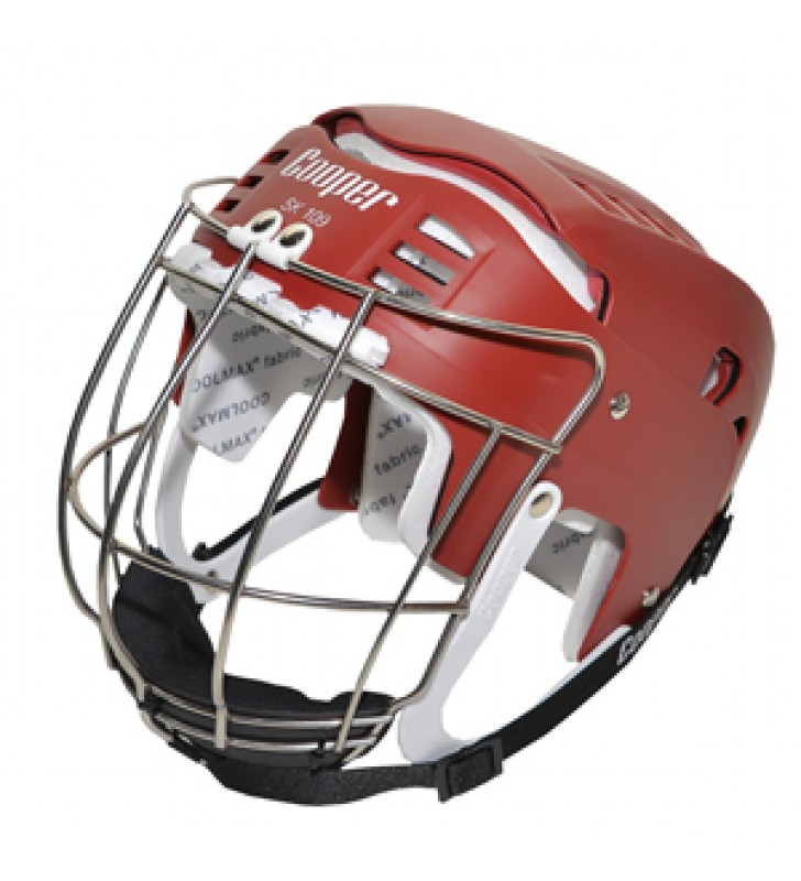 Adult - Cooper SK109 Hurling Helmet Maroon 2017 VERSION