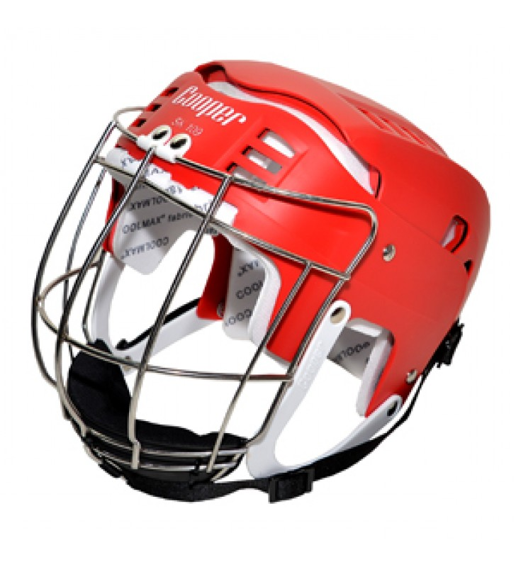 Adult - Cooper SK109 Hurling Helmet Red 2017 VERSION