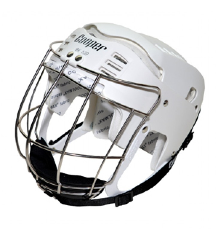 Adult – Cooper SK109 Hurling HelmetWhite 2017 VERSION
