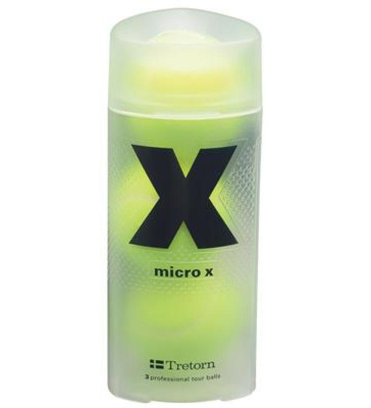 Tretorn Micro X Pack of 3 Tennis Balls
