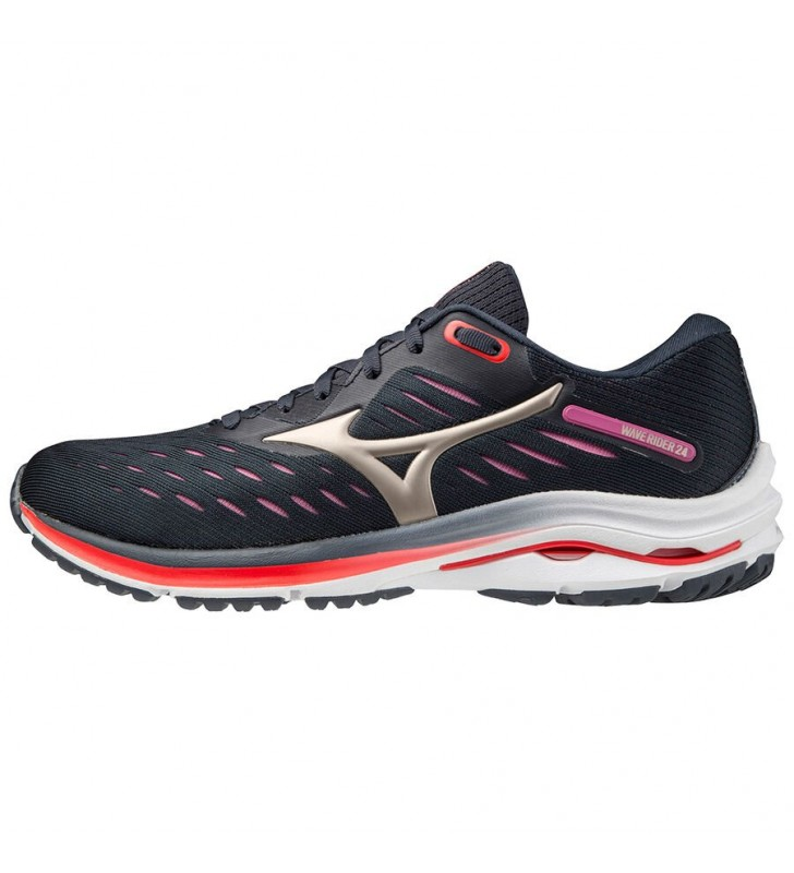 Womens - Mizuno Waver Ride 24 Running Shoe