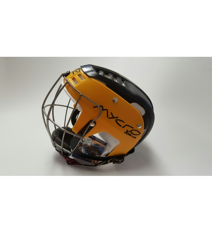 Junior – Mycro Helmet Black/Amber
