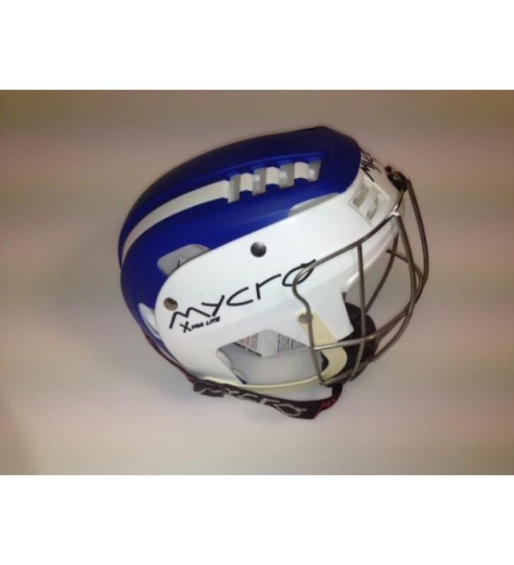 Junior – Mycro Helmet White/Blue