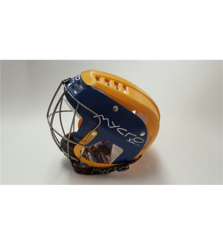 Junior – Mycro Helmet Blue/Yellow