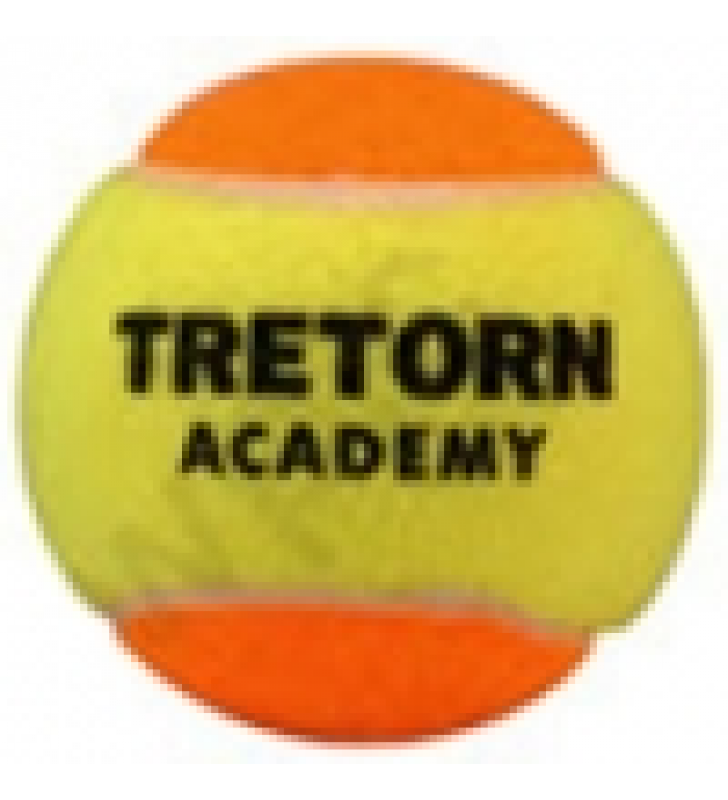 Tretorn Academy Junior Balls (Orange) Pack of 3