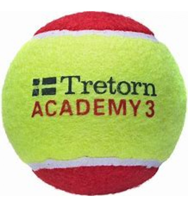 Tretorn Academy Stage 3 Tennis Balls (Pk of 3)