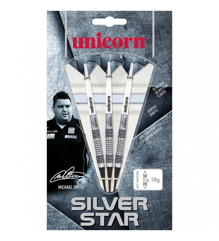 Unicorn  Silver Star 80% Tungsten Darts